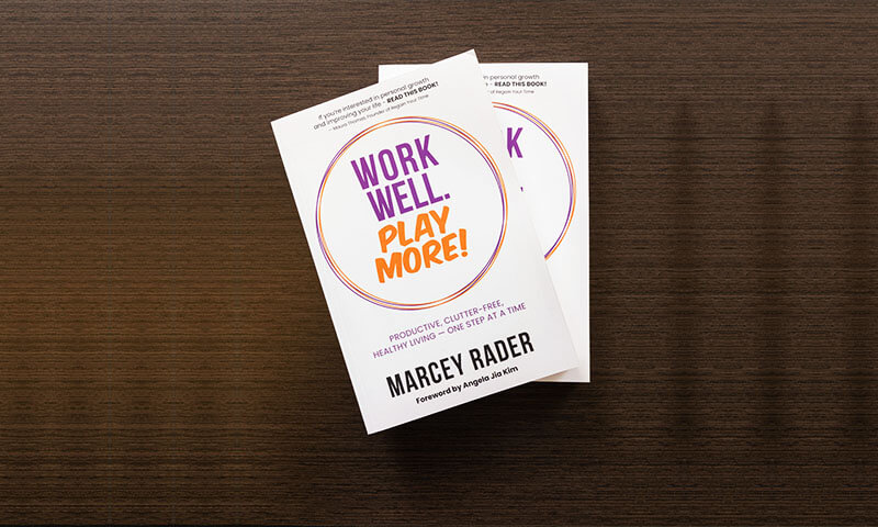 Work Well Play More Book